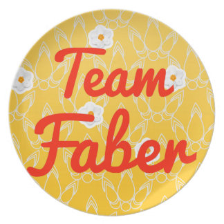 Team Faber Plate