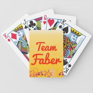 Team Faber Playing Cards