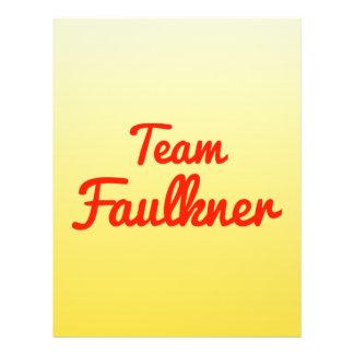 Team Faulkner Full Color Flyer