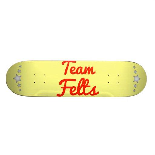Team Felts Skateboard Decks
