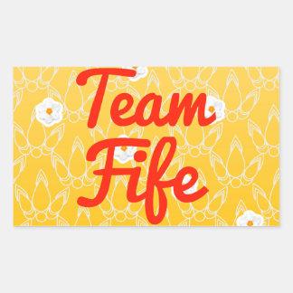 Team Fife Rectangular Sticker