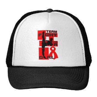 Team Fight Like A Girl Kick AIDS HIV Trucker Hat