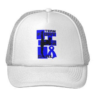Team Fight Like A Girl Kick Anal Cancer Trucker Hats