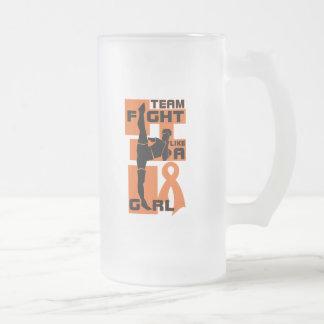Team Fight Like A Girl Kick Kidney Cancer 2 Coffee Mug