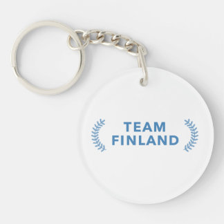 Team Finland Key Ring