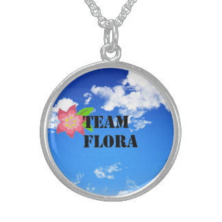 Team Flora Sterling Silver Necklace