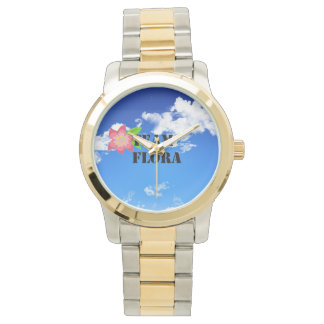 Team Flora Two Tone Watch
