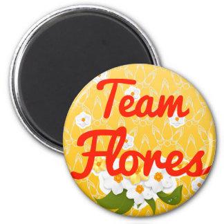 Team Flores Fridge Magnet