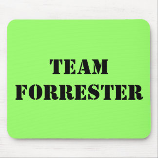 TEAM FORRESTER MOUSE PAD