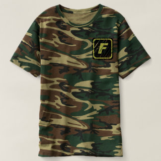 Team FORTI Scratched Logo Camo T-Shirt