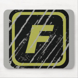 Team FORTI Scratched Logo Mouse Pad