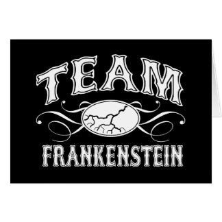 Team Frankenstein Card
