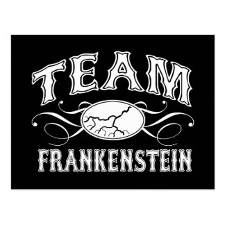 Team Frankenstein Postcard