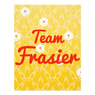 Team Frasier Personalized Flyer