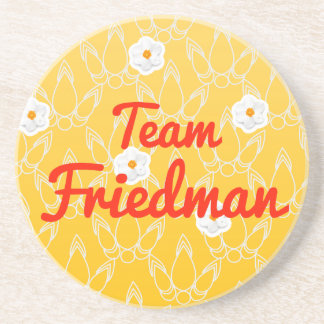 Team Friedman Drink Coasters