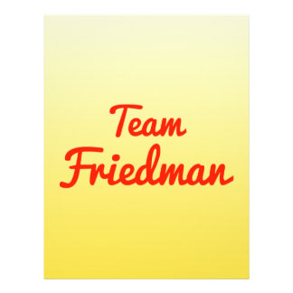 Team Friedman Flyer