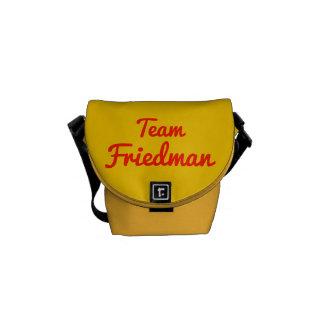 Team Friedman Messenger Bag