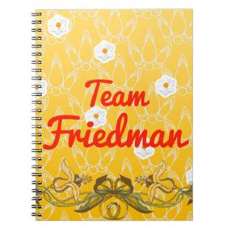 Team Friedman Journals