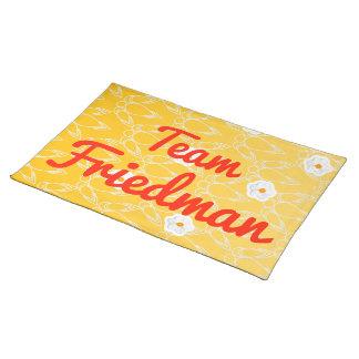 Team Friedman Placemat