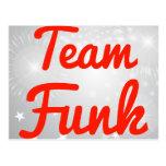 Team Funk Postcards