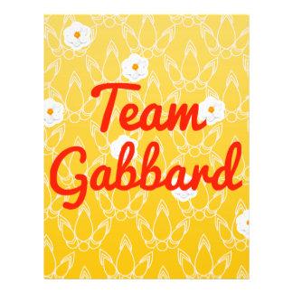 Team Gabbard Flyer