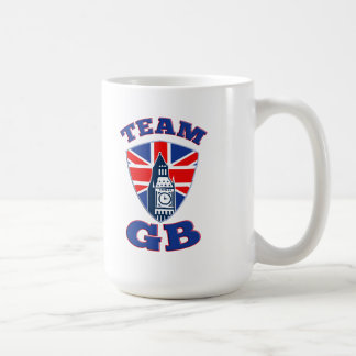 Team GB Big Ben British Flag Shield Mug