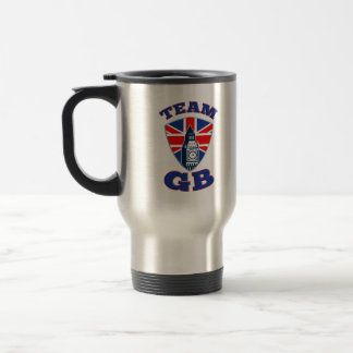 Team GB Big Ben British Flag Shield Coffee Mug