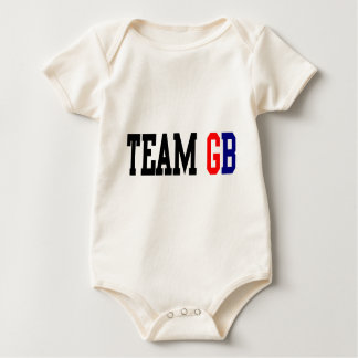 Team GB London Olympics Baby Bodysuit