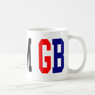 Team GB London Olympics Basic White Mug