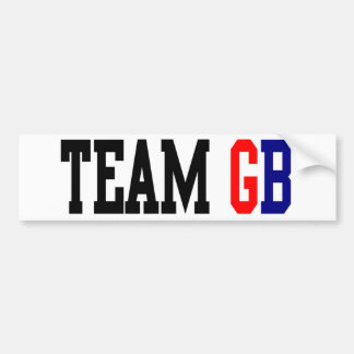 Team GB London Olympics Bumper Sticker