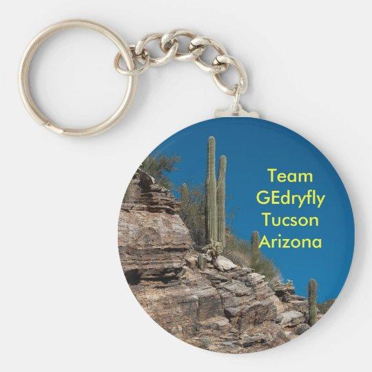 Team GEdryfly Tucson Arizona Basic Round Button Key Ring