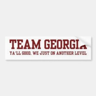 Team Georgia Bumper sticker