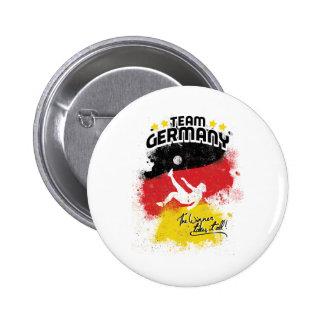 team germany 6 cm round badge