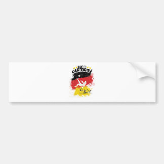 team germany bumper sticker