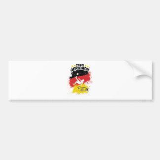 team germany car bumper sticker