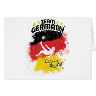 team germany greeting cards