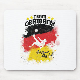 team germany mouse pad