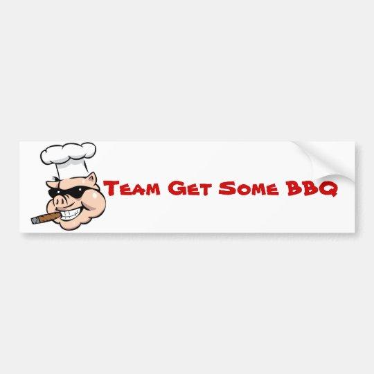 Team Get Some BBQ Bumper Sticker