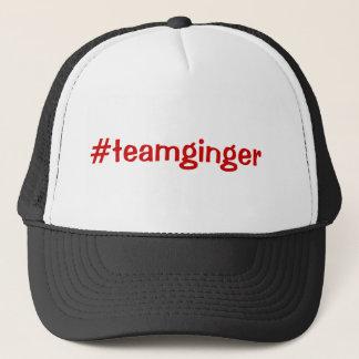 Team Ginger Trucker Hat