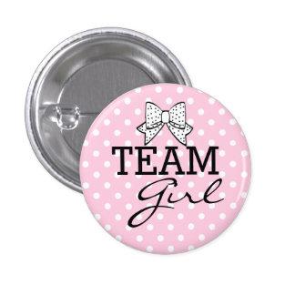Team Girl-Baby Shower Button