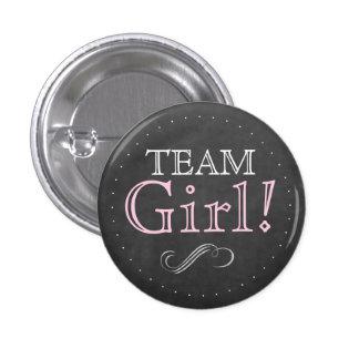 Team Girl-Baby Shower Pins