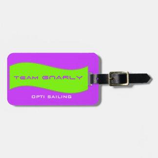 Team Gnarly Gear Bag Tag