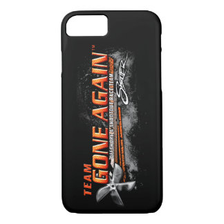Team GONE AGAIN iPhone 7 Case - Black