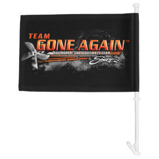 Team GONE AGAIN Vehicle Flag Car Flag