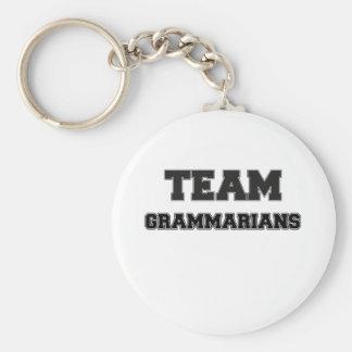 Team Grammarians Basic Round Button Key Ring