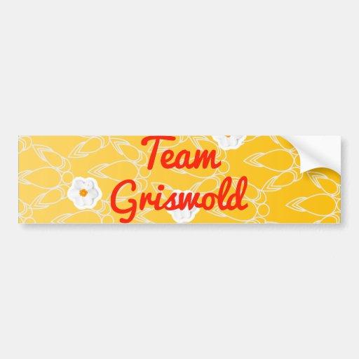 Team Griswold Bumper Sticker