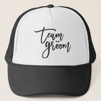 Team Groom Bow Tie Bachelor Party Wedding Cap