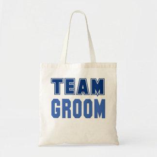 Team Groom Budget Tote Bag