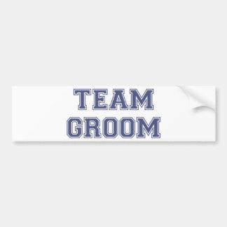 Team Groom Bumper Stickers