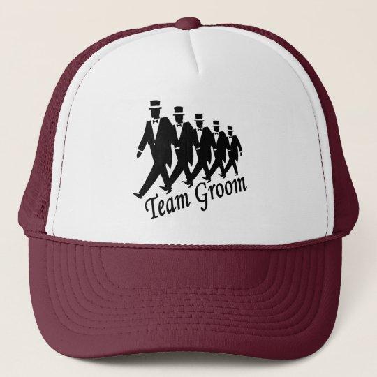 Team Groom (Men) Trucker Hat